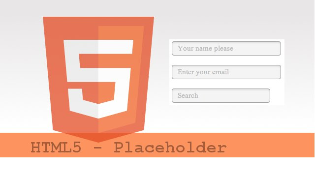 HTML5 - Placeholder